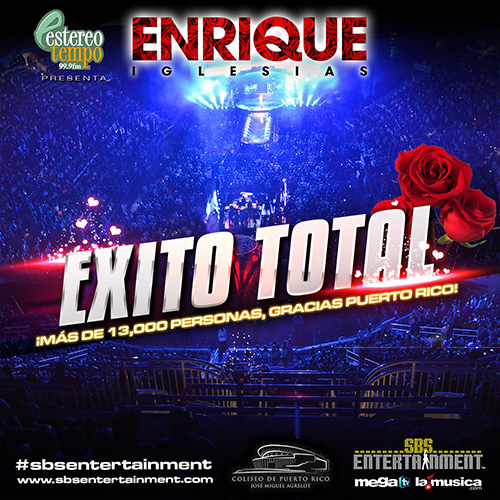 EXITO TOTAL Enrique Iglesias 2014