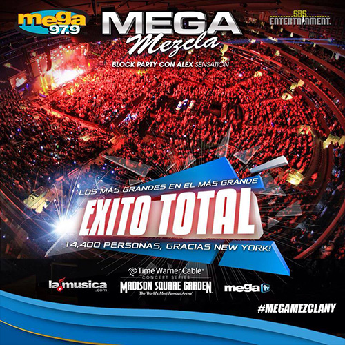 EXITO TOTAL MEGAMEZCLA New York 2014