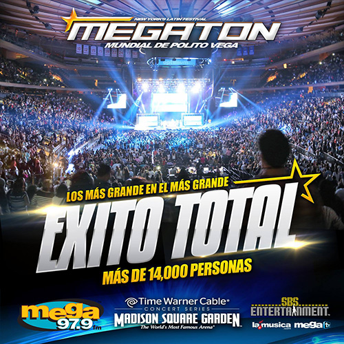 EXITO TOTAL MEGATON MUNDIAL New York 2014