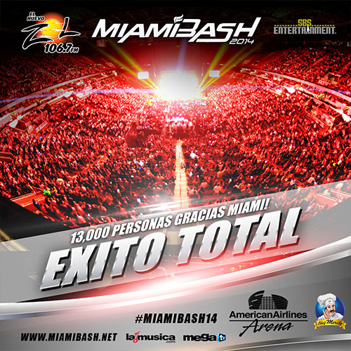 EXITO TOTAL MIAMIBASH New York 2014