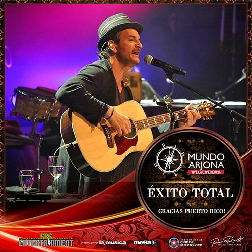 EXITO TOTAL Ricardo Arjona Live Streaming Puerto Rico 2014
